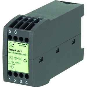 SINEAX U543 120V 0...20mA, Messumformer für Wechselspannung, ohne Hilfsenergie-Anschluss