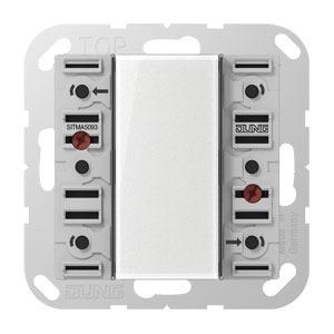 SI TM A 5093, Tastmodul Universal, Beschriftungsfeld, Beschriftungsfolien, Anschlusskabel