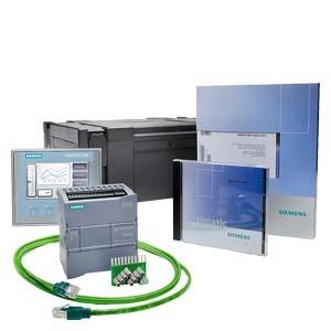 6AV6651-7KA01-3AA4, S7-1200+KTP400 Basic-Starterkit bestehend aus: CPU 1212C AC/DC/Relais, HMI KTP400 Basic, Eingangssimulator, STEP 7 Basic CD, Handbuch CD, Infomaterial