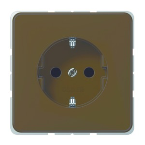 CD 520 BF BR, SCHUKO-Steckdose, 16A250V~, bruchsicher