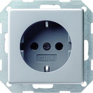 SCHUKO Gira E22 Aluminium