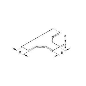 RTSKD 50, Deckel für T-Stück für Mini-Kabelrinne Breite 54 mm, Stahl, bandverzinkt DIN EN 10346