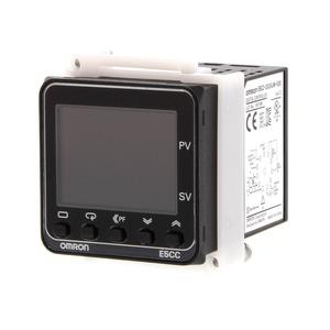 E5CC-RW2DUM-000, Universalregler, Sockelanschluss 1/16 DIN, Regelausgang 1 Relais(Wechsler), 2 Zusatzausgänge Relais, Universal-Eingang, 24V AC/DC