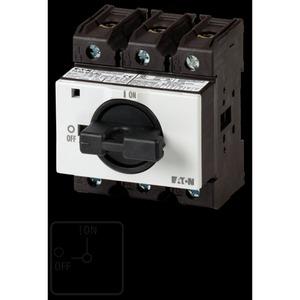 P3-100/IVS, EIN-AUS-Schalter, 3-polig, 100 A, abschließbar in 0-Stellung, Verteilereinbau