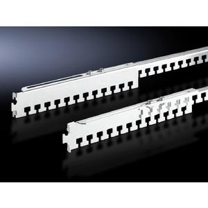 DK 7858.160, Kabelabfangschiene, tiefenvariabel für TE, TS, FR(i) 325-575 mm, Preis per VPE, VPE = 4 Stück