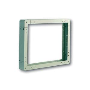 Sockel für Netzwerkschränke 800x1000mm Farbe grau RAL 7035