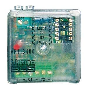 Modul für die elektromagnetischen Ruhekontakte (NC) von 2 Leitungen, 2 DIN-Module, L × B × T: 41 × 41 × 19 mm