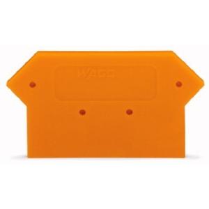 Abschluss- und Zwischenplatte 4 mm dick orange
