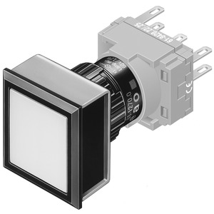 Leuchtdrucktasten-Vorsatz I neutral
