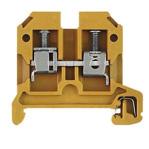 SAK 4/35 KRG, Durchgangs-Reihenklemme, Schraubanschluss, 4 mm², 800 V, 32 A, Anzahl Anschlüsse: 2