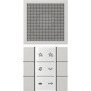 SI AI LS 6 LG, Audio-Innenstation, Beschriftungsfeld, Beschriftungsfolien, Anschlusskabel