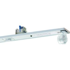 VLSG-T16 135/49/80-5 EVG, Geräteträger weiß, IP54, 5-polig, 1xT16 35, 49, 80W, Multiwatt EVG, L=1486mm. Beim variablen Platzieren der Geräteträger kann es zum Zusammentreffen v