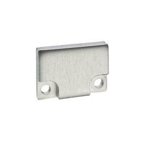 Endkappen BARDOLINO FLACH Aluminium