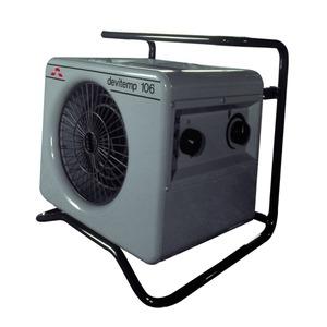 DEVItemp 303 T, Industrieheizlüfter 230 V, 3 kW, mit Einschalt-Timer