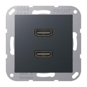 MA A 1133 ANM, 2 x HDMI, Tragring, Schraubbefestigung, bruchsicher