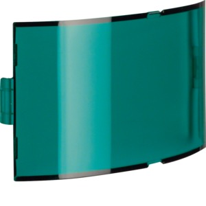 Blende für Info-Lichtsignalaufsatz grün