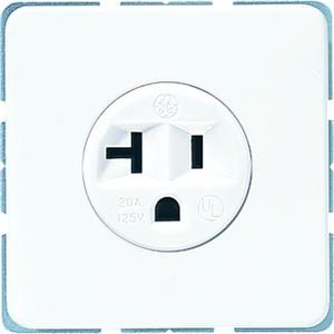 CD 521-20 WW, Steckdose mit Schutzkontakt, 20 A, 125 V ~, amerikanisches System (NEMA)