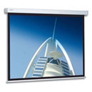Elektrische Leinwand zur Wand- oder Deckenmontage, Außenmaß: 183 x 240 cm, Nutzmaß: 173 x 230 cm, Format: 4:3, Tuchsorte: Mattweiß