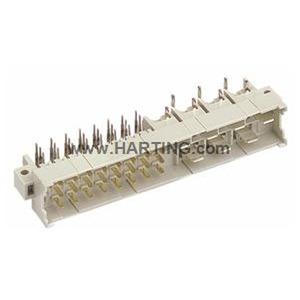 Steckverbinder, Messerleiste, Thermoplastischer Formstoff, glasfaserverstärkt, Motherboard to daughtercard, Leiterplatte zu Kabel, Wellenlötanschluss