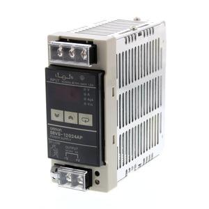 S8VS-12024AP, Schaltnetzteil, 120 W, 100 bis 240 VAC Eingang, 24 VDC, 5 A Ausgang, DIN-Schienenmontage, mit Digitalanzeige, PNP