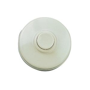 KKO 5050, Taster, Kunststoff Weiß rund