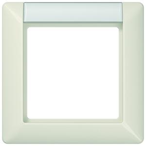AS 581 NA, Rahmen, 1fach, Schriftfeld, für waagerechte und senkrechte Kombination