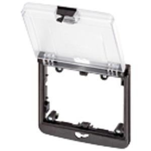 4000-68522-0000001, Modlink MSDD Einbaurahmen 2-fach transparent