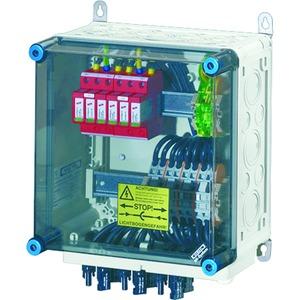 Mi PV 1242, PV-Generatoranschlusskasten, mit ÜSE, 4xPV-Strang auf 2xWR-Eing.