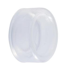 Schutzkappe für Drucktaster, rund, flach, Ø 22mm, farblos, VP: 10 Stck.
