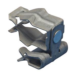 8P58IN, H-PIN Flanschklipp zum Aufschlagen mit Kabelschutzrohr Schelle, 18–22 mm (0,709–0,866) OD, 8–14 mm (0,31–0,55) Flansch