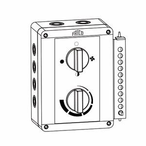 Steuergerät mit Thermostat für ELC und ELV