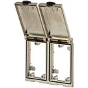 4000-68123-0000000, Modlink MSDD Einbaurahmen 2-fach Metall