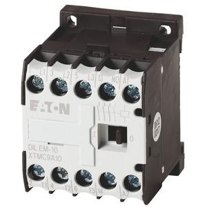 DILEM-10-G(48VDC), Leistungsschütz, 3-polig + 1 Schließer, 4 kW/400 V/AC3, DC-betätigt