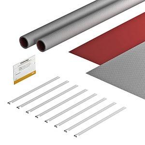 FSB-K32, Bandagenset für Photovoltaik 550x380, grau / rot