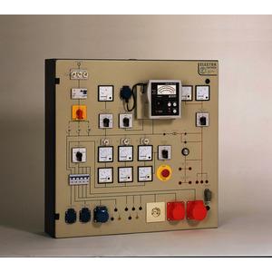 PST 2E, Prüftafel mit eingebautem;Messgerät GE