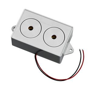 AS05, Innensirene, Piezo-Sirene mit niedriger Stromaufnahme, 110 dB(A), 12 V DC, 100mA