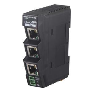 GX-JC03, EtherCAT Abzweigmodult, 3 Port, 24 V DC Spannungsversorgung