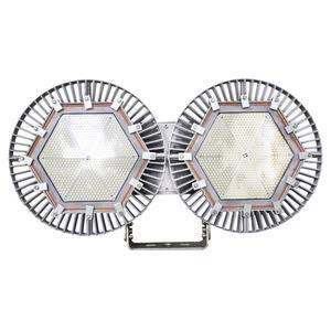Vigilant Dual Floodlight, 55000 Lumens, 424W, 120-277 VAC, NEMA 6, Cool White, [CE / ENEC / RCM]