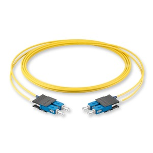 Zipcord; Diam 2,9 mm; Fibre count 2F; Cable jacket: FRNC SMF-28e OS2 E9; Connectors: -SC Duplex SM/ -SC Duplex SM; Length 3.0 M