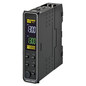 E5DC-QX2DSM-002, Universalregler, DIN-Schiene, Regelausgang 1: 12V DC spannungsschaltend, 2 Zusatzausgänge Relais, Universal-Eingang, 24V AC/DC, Option 002