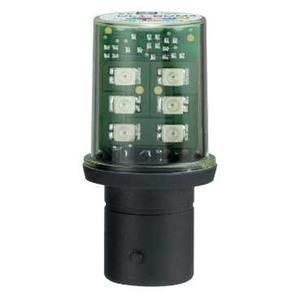 LED BA15 D 230V BLINKEND OR