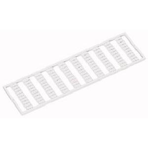 WMB-Beschriftungskarte U, , V, , W, , N, , PE, (10x) dehnbar 5 - 5,2 mm Aufdruck senkrecht weiß