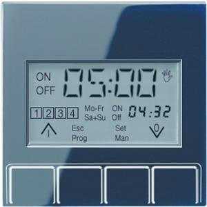 A 5201 DTST SW, Zeitschaltuhr-Display Standard, Anzeige: aktuelle Uhrzeit, nächste Schaltzeit