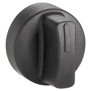 Schutzkappe schwarz für Wahlschalter mit kurzem Knebel Ø22