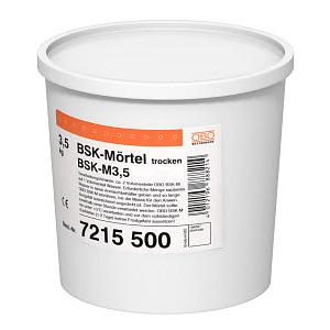 BSK-M, Brandschutzkanal-Mörtel Trockenfertigmörtel im Eimer 3,5kg, grau