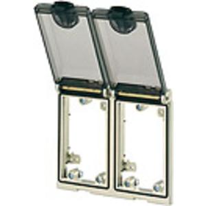 4000-68223-0000000, Modlink MSDD Einbaurahmen 2-fach Metall