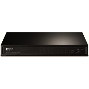 T1500G-10PS(TL-SG2210P), TP-Link T1500G-10PS 8-Port Gigabit PoE L2 Managed Switch 2xSFP