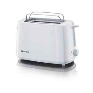 Automatik-Toaster, ca. 700 W, weiß