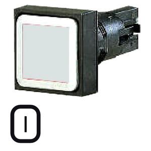 Q18D-WS, Drucktaste, weiß, tastend