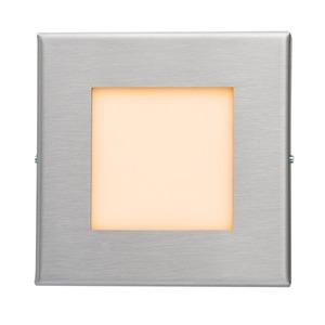 LED-Wandeinbaul.230V Edelst.,1,2W,LF:ora